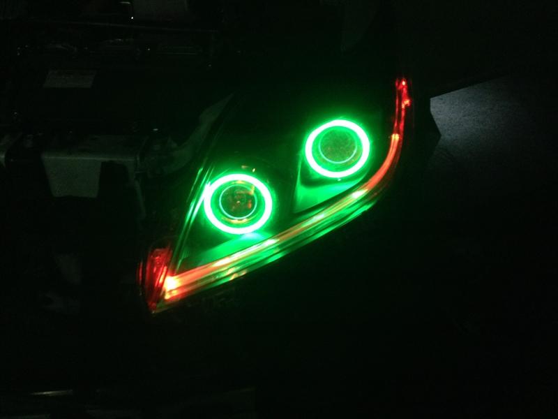 ライト交換