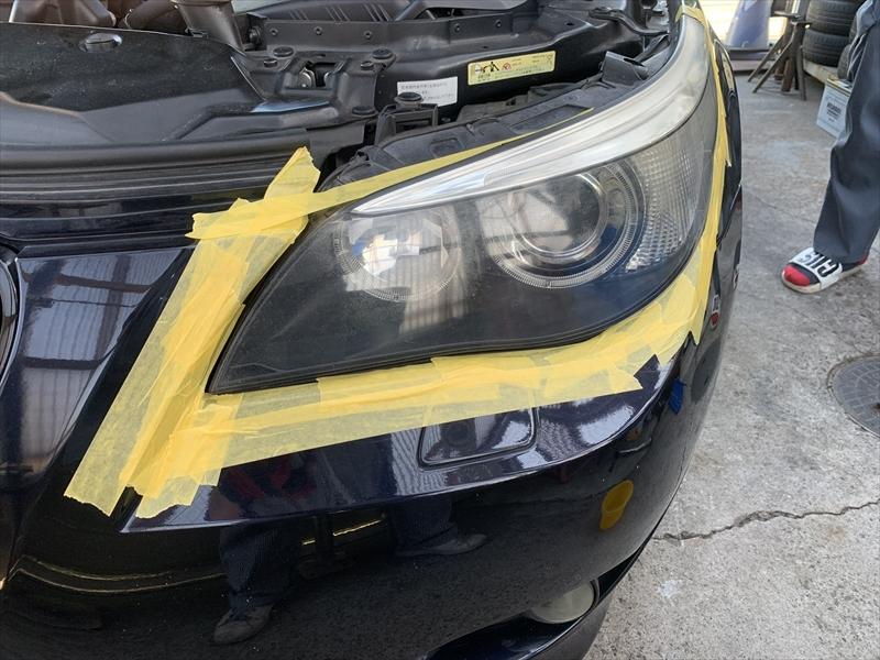 ライト修理